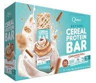 Quest Nutrition - Beyond Cereal Protein Bar Cinnamon Roll - 15 Bars