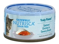 Catswell Nutrisca - Truly Flaked Cat Food Salmon Entree in Savory Broth - 2.7 oz.