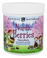 Nordic Naturals - Nordic Berries Multivitamin Gummies Cherry Berry - 120 Gummies
