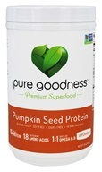 Pure Goodness - Pumpkin Seed Protein Unflavored - 16 oz.