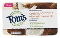 Tom's of Maine - Natural Beauty Bar Soap Creamy Coconut - 5 oz.