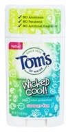 Tom's of Maine - Wicked Cool! Natural Deodorant for Girls Summer Fun - 2.25 oz.