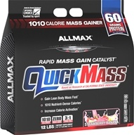 QuickMass Rapid Mass Gain Catalyst Strawberry-Banana - 12 lbs.
