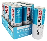LifeAID - FocusAID Drink Fusion Tea - 12 Can(s)