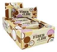 NuGo Nutrition - Fiber d'Lish Bar Coconut Macaroon - 16 Bars