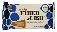 NuGo Nutrition - Fiber d-Lish Bar Blueberry Cobbler - 1.6 oz.
