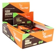 Bulletproof - Gluten-Free Collagen Protein Bites Fudge Brownie - 15 Bars