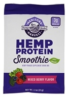 Manitoba Harvest - Hemp Protein Smoothie Mixed Berry - 1.1 oz.
