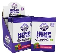 Manitoba Harvest - Hemp Protein Smoothie Packets Mixed Berry - 12 Packet(s)