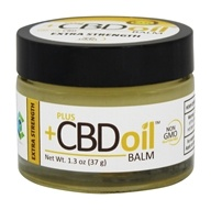 Plus CBD Oil - Extra Strength Balm 100 mg. - 1.3 oz.