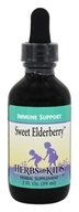 Herbs for Kids - Sweet Elderberry Drops - 2 oz.