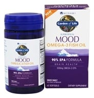 Garden of Life - Minami Mood Omega-3 Fish Oil EPA Formula 500 mg. - 60 Softgels