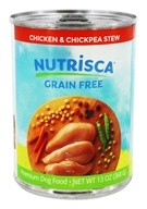 Dogswell Nutrisca - Canned Dog Food Chicken and Chickpea Stew - 13 oz.