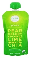 HappyFamily - Shine Organics Revive Fruit & Veggie Snack Pouch Pear & Celery - 4.22 oz.