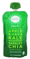 HappyFamily - Shine Organics Purify Fruit & Veggie Snack Pouch Apple & Guava - 4.22 oz.