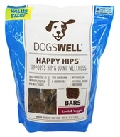 Dogswell - Happy Hips Bars Dog Treats Lamb and Veggies - 28 oz.