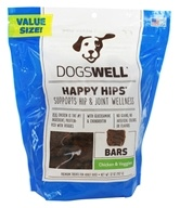 Dogswell - Happy Hips Bars Dog Treats Chicken and Veggies - 32 oz.