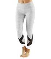 Manduka - Linea Crop Legging Herringbone - Medium