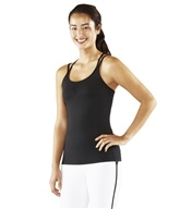Manduka - Cross Strap Cami Black - Medium