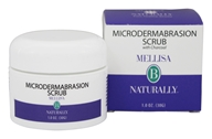 Mellisa B Naturally - Microdermabrasion Scrub with Charcoal - 1 oz.