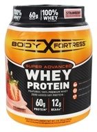 Body Fortress - Super Advanced Whey Protein Strawberry - 2 lbs.