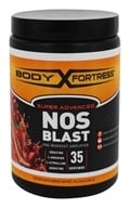 Body Fortress - Super Advanced NOS Blast 35 Servings Fruit Punch - 1 lb.