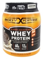 Body Fortress - Super Advanced Whey Protein Cookies N Creme - 2 lbs.