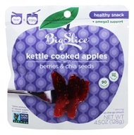 Big Slice Apples - Pure Kettle Cooked Apples Honey Berry Chia - 4.5 oz.