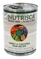 Dogswell Nutrisca - Canned Dog Food Turkey and Chickpea Stew Recipe - 13 oz.