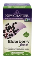 New Chapter - Elderberry Force - 30 Vegetarian Capsules