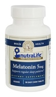Nutralife - Melatonin 5 mg. - 90 Tablets