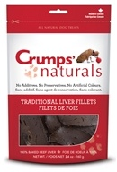 Crump Naturals - Traditional Liver Fillets Dog Treats - 2.4 oz.