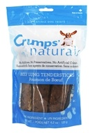 Crump Naturals - Tendersticks Dog Treats Beef Lung - 4.2 oz.