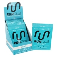 Run Gum - Performance Energy Sugar-Free Gum Mint - 12 Packet(s)