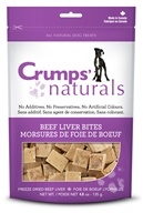 Crump Naturals - Beef Liver Bites Dog Treats - 4.8 oz.
