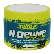 Swole fôlatre la nutrition - N.O. Pump Nitric Oxide Amplifier Unflavored - 4.8 once.