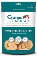 Crump Naturals - Sweet Potato Chips Dog Treats - 2.8 oz.
