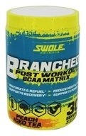 Swole fôlatre la nutrition - Branched Post Workout BCAA Matrix Peach Iced Tea - 12.6 once.