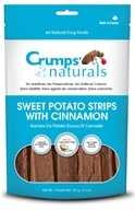 Crump Naturals - Sweet Potato Strips Dog Treats Sweet Potato and Cinnamon - 5.6 oz.