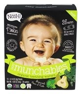 Nosh - Baby Munchable Organic Teething Wafers Broccoli, Pear & Kale - 26 Wafers