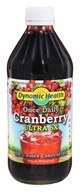 Dynamic Health - Once Daily Cranberry Ultra 6X - 16 oz.