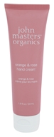 John Masters Organics - Hand Cream Orange & Rose - 1.9 oz.