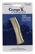Crump Naturals - Elk Antler Medium Spilt Long Lasting Dog Chew