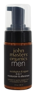 John Masters Organics - Men's 2-in-1 Moisturizer & Aftershave Eucalyptus & Agave - 3 oz.