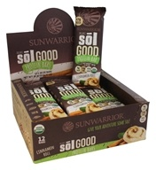 Sunwarrior - Organic Sol Good Protein Bars Box Cinnamon Roll - 12 Bars
