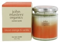 John Masters Organics - Soy Wax Candle Blood Orange & Vanilla - 6.5 oz.