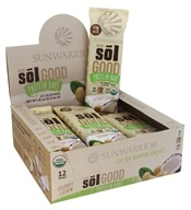 Sunwarrior - Organic Sol Good Protein Bars Box Coconut Cashew - 12 Bars
