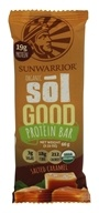 Sunwarrior - Organic Sol Good Protein Bar Salted Caramel - 2.33 oz.