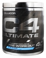 C4 Ultimate iD Series Pre-Workout 40 Servings Icy Blue Razz - 760 Grams
