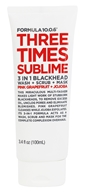 Formula 10.0.6 - Three Times Sublime 3-In-1  Blackhead Wash + Scrub + Mask - 3.4 oz.